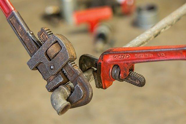 Gli attrezzi dell'idraulico