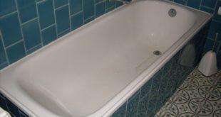 Rimozione di una vasca da bagno