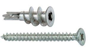 Tassello in metallo per cartongesso